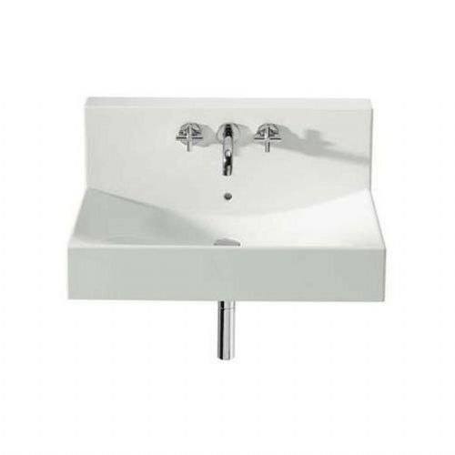 Roca Diverta Wall Hung Basin - 750mm - 3 Tap Hole - White
